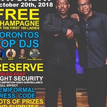 The Annual All Black Attire Affair 2018
