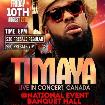 TIMAYA LIVE IN CANADA