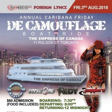 De Camouflage Boat Cruise 2018