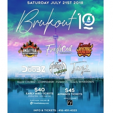 BRUKOUT 10 BOAT RIDE