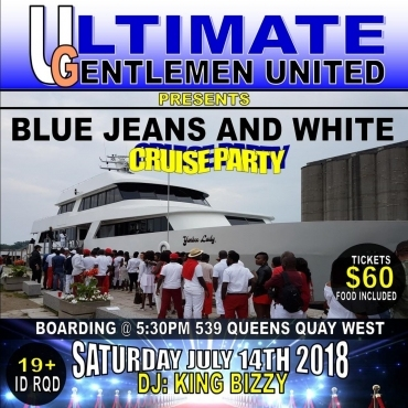 Blue Jean and White Cruise Party