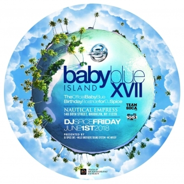 DJ Spice's Baby Blue Birthday Boatride 2018 NYC