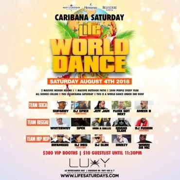 WORLD DANCE   Caribana Saturday