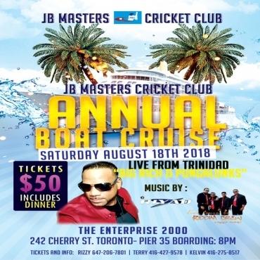 JB Masters Crickets Club Annual Boat Cruise