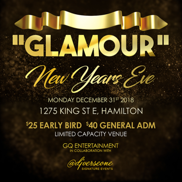 NYE Glamour - Hamilton