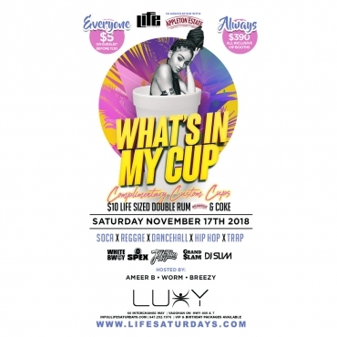 Life Saturday's - WHAT'S IN MY CUP