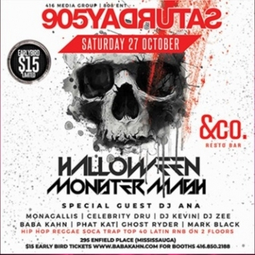 Monster Bash 905 Saturdays