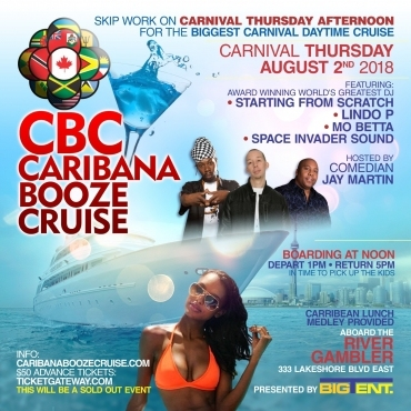 CBC Caribana Booze Cruise