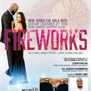 FIREWORKS NEW YEARS EVE GALA 2019