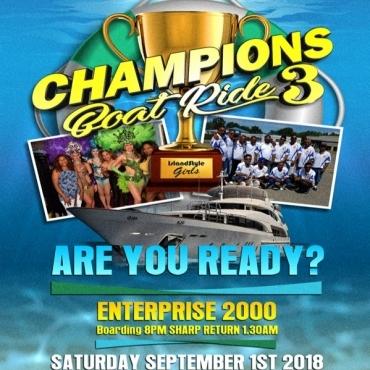 Champions Boat Ride 3