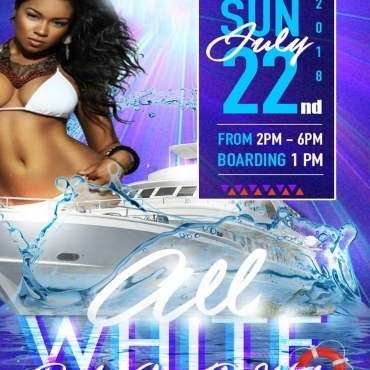 ALL WHITE PARTY ON THE WATER