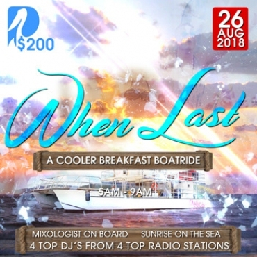 When Last - A Cooler Breakfast Boatride