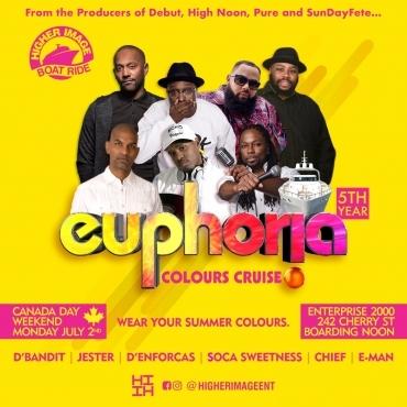 Euphoria Colours Cruise 2018