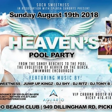HEAVEN'S POOL PARTY
