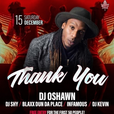 Dj Oshawn Presents Thank You Appreciation Party