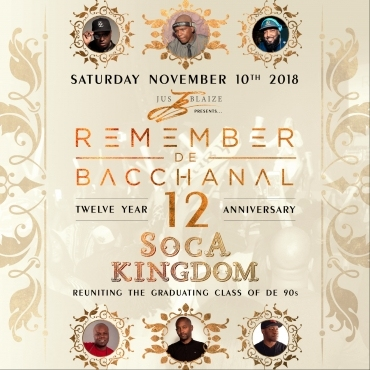 REMEMBER DE BACCHANAL - THE ANNIVERSARY -
