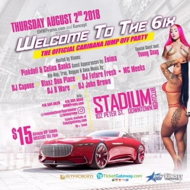 WELCOME TO THE SIX! OFFICIAL  CARIBANA JUMP OFF!