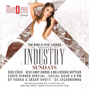 INDUSTRY SUNDAYS @ THE 905