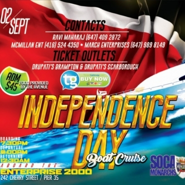 Trinidad and Tobago Independence Day Cruise