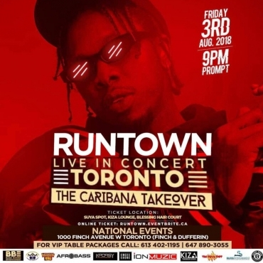 RUNTOWN LIVE IN CONCERT TORONTO - MAD OVER YOU CANADA TOUR