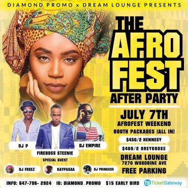 THE AFRO FEST AFTER PARTY