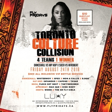 FLY FRIDAYS  - CULTURE COLLISION