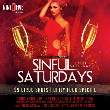 SINFUL SATURDAYS @ THE 905