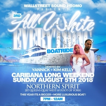 ALL WHITE EVERYTHING BOATRIDE 2018