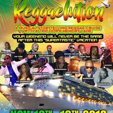 Reggaelution Cruise 2018  At Miami   Buy Tickets