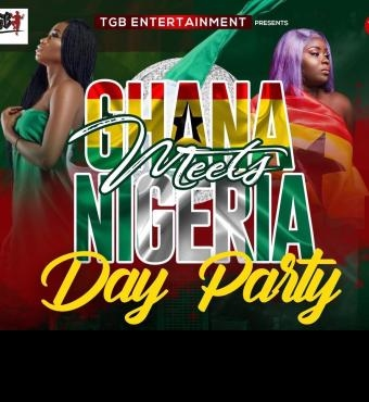 GHANA MEETS NIGERIA (Day Party Edition)