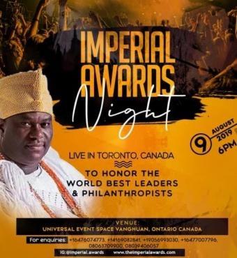 Imperial Awards Night