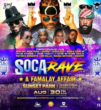SOCA RAVE - A Famalay Affair 2019