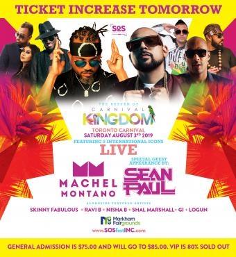 CARNIVAL KINGDOM | SOS FEST | MACHEL MONTANO and S...