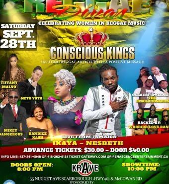 Reggae Divas & Conscious Kings Concert 2019