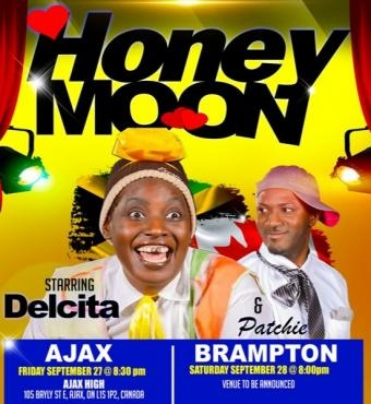 Delcita and Patchie Honeymoon - The Play - Friday Ajax
