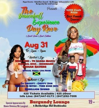 The Dancehall Experience Day Rave