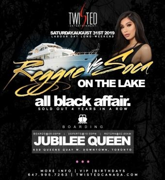 Reggae VS Soca On The Lake | Labor Day Weekend | Saturday Aug 31st