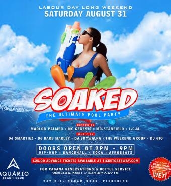 SOAKED - The Ultimate Pool Party