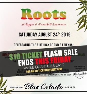 ROOTS - A REGGAE & DANCEHALL EXPERIENCE *** PAY AT THE DOOR!