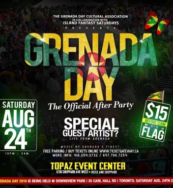 Grenada Day The Official After Party 2019