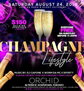 LIFESTYLE SATURDAYS : CHAMPAGNE LIFESTYLE