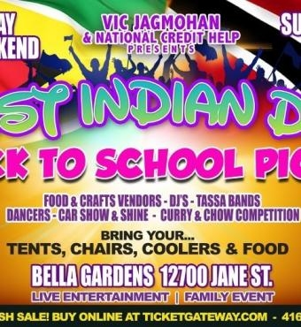 West Indian Day - Back To School Picnic 2019