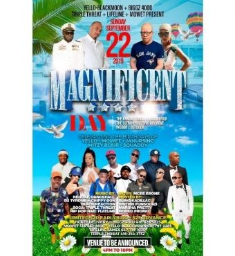 Magnificent DAY PARTY  – The Annual Virgo/Libra Affair Day 2019