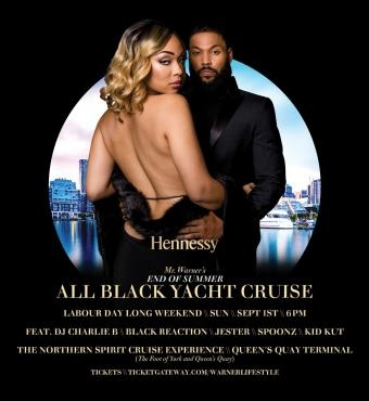 Mr. Warner's End of Summer - All Black Yacht Cruise
