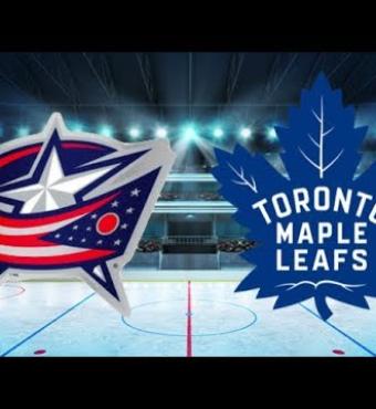 Toronto Maple Leafs vs Columbus Blue Jackets Match 2019   Tickets 21 Oct