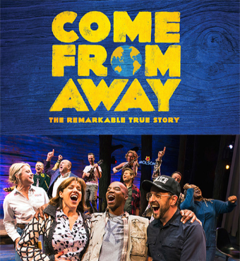 Come From Away Musical In Toronto 2019   Tickets Tues 22 Oct