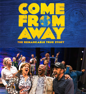 Come From Away Musical Live In Toronto 2019   Tickets Wed 23 Oct