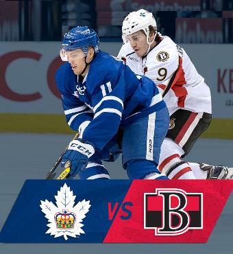 Toronto Marlies vs. Belleville Senators Tickets   2020 Feb 04