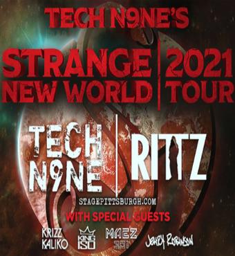 Tech N9ne, Krizz Kaliko, Jelly Roll & King Iso   Tickets