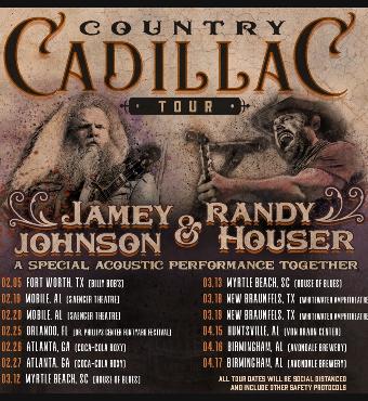 Jamey Johnson & Randy Houser   Tickets